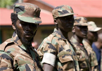 CNDP Rebels in Congo