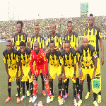Vita Club in Kinshasa on 9.21.2014 at Stade Tata Raphael during the game against CS Sfaxien