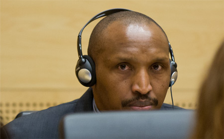Bosco Ntaganda at the ICC on 02.10.2014