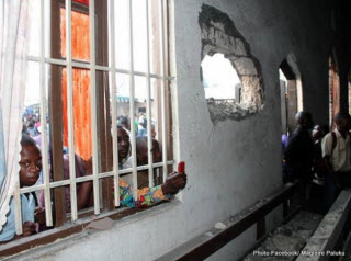 Mortar shells hit a house in Goma on Thursday