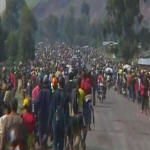 North Kivu residents fleeing war ravaged region