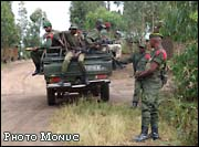 The United Nations mission in the Democratic Republic of Congo (Monuc) says it will