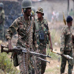 DR Congo FARDC soldiers on the frontlines