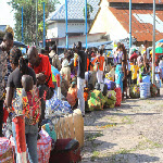 Congolese families deported from Brazzaville arrive in Kinshasa