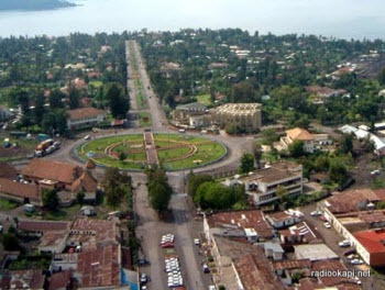 Goma, capital city of North Kivu province