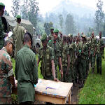 Cong soldiers in Ituri - North Kivu