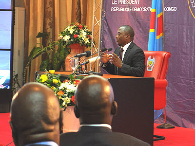 Joseph Kabila holds rare news conference