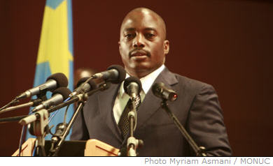 In his annual address on the state of the nation this Thursday 6 November 2007 in Kinshasa in front of parliament, DRC president Joseph Kabila underlined in particular the achievements of the government, in relation to security, development and international relations.