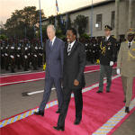 King Albert II and Joseph Kabila