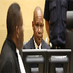 Mathieu Ngudjolo Chui at the International Criminal Court on 18 December 2012