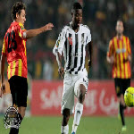 TP Mazembe's Nathan Sinkala during Champions League game against Esperance