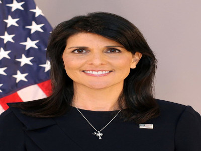 Nikki Haley, U.S. ambassador to the United Nations