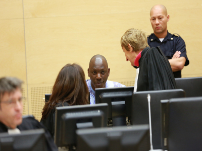 Thomas Lubanga at the ICC on 12.1.2014