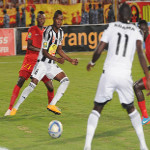 TP Mazembe play against Sudan's El Merreikh on 9.26.2015 in Omdurman