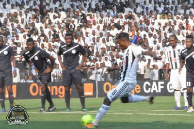 TP Mazembe play against Berekum Chelsea in Lubumbashi on 7.22.2012