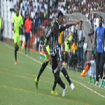 TP Mazembe play against AS Vita Club in Lubumbashi on 5.25.2014