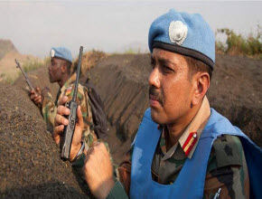 UN peacekeepers in DR Congo