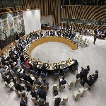 UN Security Council votes to authorize the deployment of an intervention force to target armed groups in the Democratic Republic of the Congo (DRC). UN Photo/JC McIlwaine