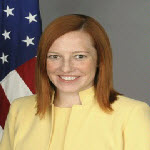 U.S. State Department spokeswoman Jen Psaki