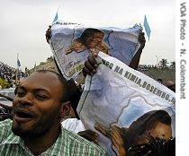 Congo elections - Jean-Pierre Bemba supporters