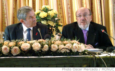 Paul Wolfowitz and Louis Michel