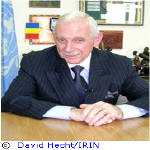 William Swing - Special Representative of UN Secretary-General to the DRC and head of MONUC