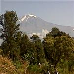 Kilimanjaro big mount in Africa
