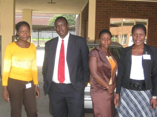 Myself and my administrative staff